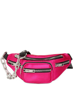 Mini Attica Satin Belt Bag