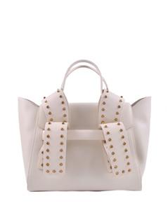 Banff Annie Shoulder bag in Black/Beige