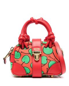 Black Le Carinu Leather Shoulder Bag