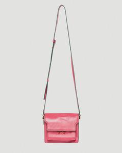 Trunk Small Soft Shoulder Bag in Pink