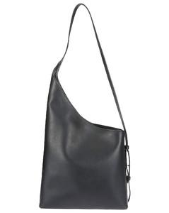 Handbag Severine Small In Brown Calfskin