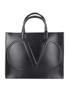 Shopper VLOGO WALK Calfskin black