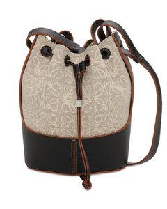 Small Balloon Anagram & Leather Bag