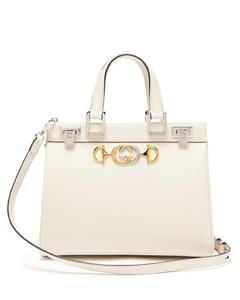 Zumi small top-handle leather handbag