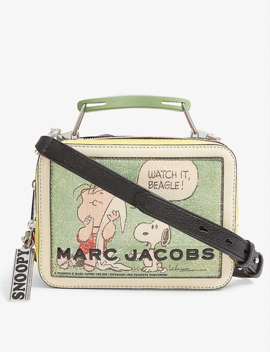 The Box Bag leather cross-body bag