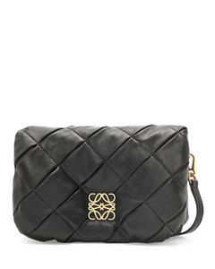 Genius 2 Moncler 1952 + valextra white double pouch shoulder bag