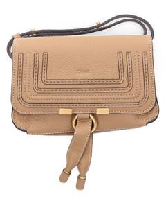 Belt Bag MARCIE Calfskin Logo beige