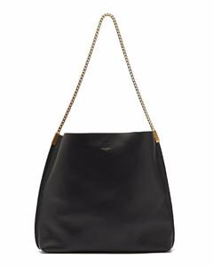 Suzanne medium chain-strap leather shoulder bag