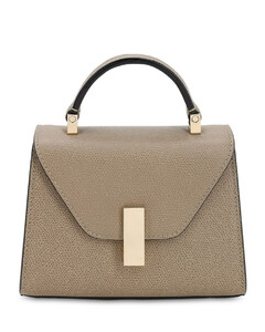 Micro Iside Grained Leather Bag