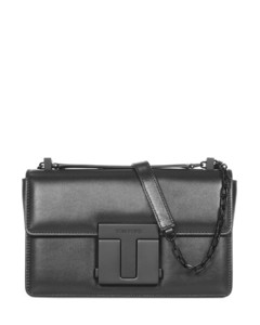 Reptile print clutch bag in beige
