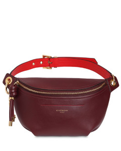 Medium Whip Smooth Leather Belt Bag