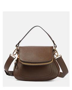 Titania crystal-embellished clutch