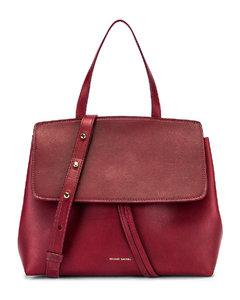Mini Lady Bag in Red