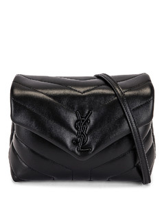 Toy Strap Loulou Bag in Black