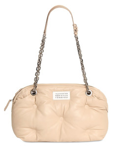 Glam Slam Bowling Quilted Leather Bag