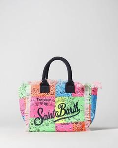 Small Animalia Print Silk and Leather TB Bag