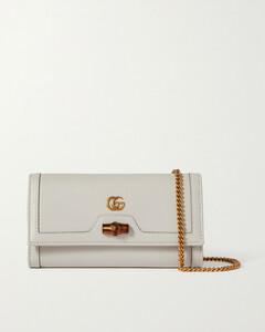 Diana Textured-leather Shoulder Bag