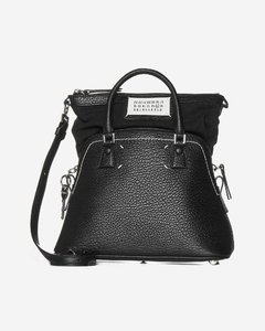 Leather Cross-Body Bag In Stone