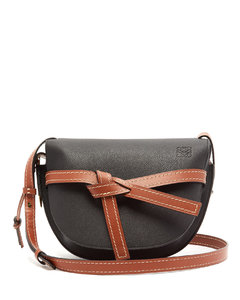 Gate small grained-leather cross-body bag