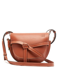Gate small leather cross-body bag