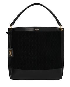 YSL Hobo shoulder bag in black