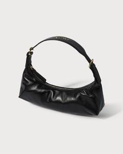 Mara Black Leather Bag