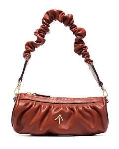 Recycled Nylon Cross-Body Bag In Red