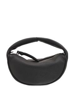 Baby Cush Flat Leather Top Handle Bag