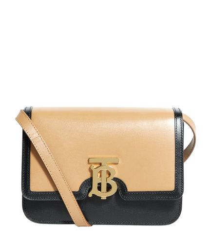 Small Leather TB Bag