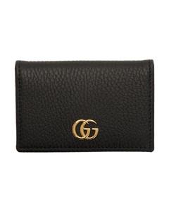 黑色GG Marmont卡包