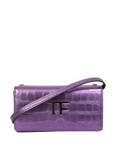 1955 Horsebit Oval Wallet in Brown