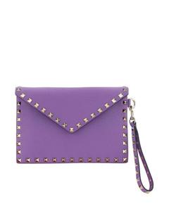 Women's Star Cross Body Bag - Gold/Crystal