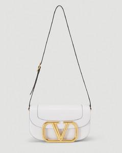 Supervee VLOGO Shoulder Bag in White