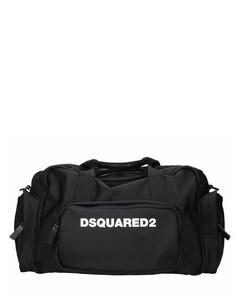 Sports bag DUFFLE BAG Nylon logo black