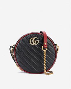 GG Marmont mini leather shoulder bag
