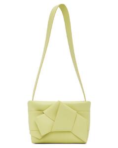 Double Moon Leather Shoulder Bag