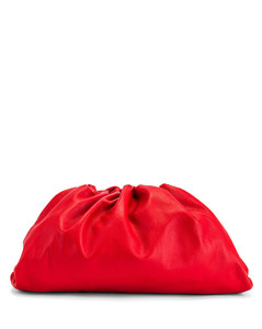 The Pouch Clutch in Red