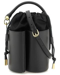 The Shoulder leather bag
