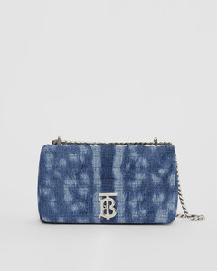 Small Quilted Denim Lola Bag