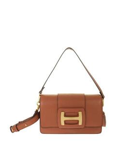 Zumi striped leather tote bag