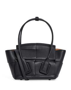 Mini Leather Arco 29 Top-Handle Bag