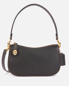Women's Swinger Shoulder Bag - Black