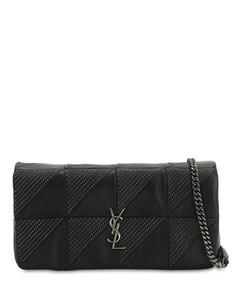 Jamie Baguette Micro Studded Leather Bag