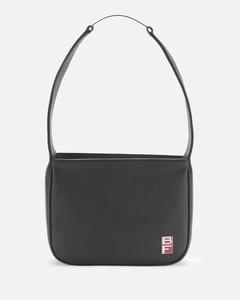 Women's Venice Flat Grain Bag - Black