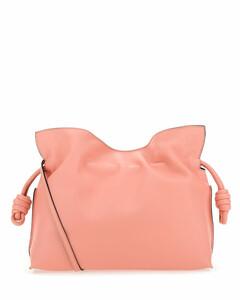 Pink nappa leather Flamenco clutch Nd Loewe Donna