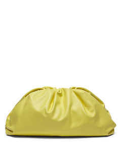 The Pouch Clutch in Yellow