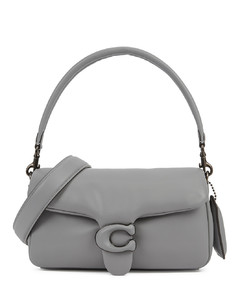 Pillow Tabby 26 grey leather shoulder bag