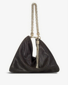 Callie Suede Clutch Bag