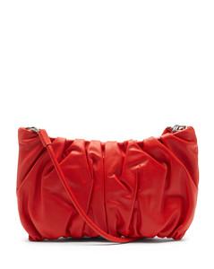 Bean large leather cross-body bag