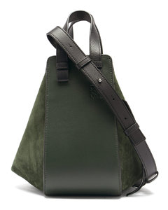 Hammock small suede and leather tote bag